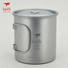 Keith Titanium Ti3207 Single-Wall Mug - 20.3 fl oz (Shipped from USA)