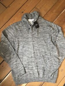 Next Jumper Size Medium Grey New Tags Long Sleeve Knitted