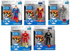 DC Comics 10cm Action Figure with 3 Mystery Accessories