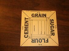 M&St.L MINNEAPOLIS & ST. LOUIS RAILWAY BLANK UNUSED FREIGHT CAR PLACARD