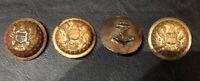 Lot Of (4) Military Brass Buttons Goodwins 1875