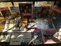 Vintage Lot Of Beatles Magazines, Program And Booklet 1964  People Battlemania