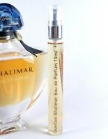 Guerlain Shalimar Eau de Parfum 10ml Glass Atomizer Travel Spray EDP Perfume