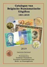 Catalogus van Belgische Numismatische Uitgiften 1831-2019