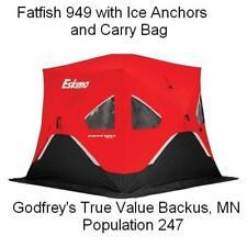 NEW ESKIMO FF949 FATFISH PORTABLE ICE SHELTER SHANTY FISHING HOUSE FISH 3-4 Man