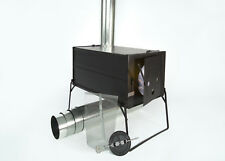 NEW! Lightweight Collapsible Wood Stove for Outfitter Canvas Wall Tent Camping