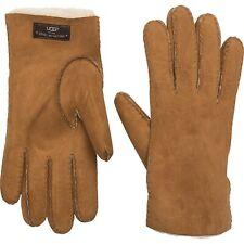 NWT New Men's UGG AUSTRALIA Sheepskin Gloves Shearling Chestnut Brown Large