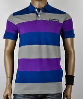 Tommy Hilfiger Smart Casual Multi Stripe Pique Polo T-Shirt for Men
