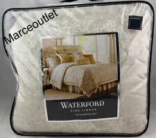 Waterford Linens Belissa 4 Piece Cal.King Comforter Set Ivory