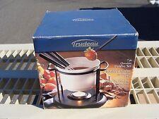 Trudeau Chocolate Fondue Set 7-Piece