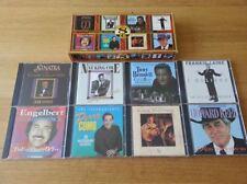 Legendary Singers Collection (8 CD Box Set box Set 1997) Sinatra, Nat King Cole,