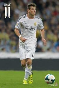 Gareth Bale SUPERSTAR Real Madrid FC Official La Liga Spanish Import POSTER
