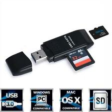 Super Speed 5Gbps Adapter Mini USB 3.0 Micro SD/SDXC TF Card Reader Adapter
