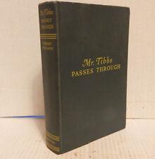 "Vintage 1943 Book ""Mr. Tibbs Passes Through"" Robert Neumann / E.P. Dutton & Co."