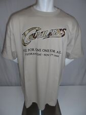 CLEVELAND CAVALIERS Used 2008 Gildan Veteran's Day Camo SGA Screened T-Shirt XL