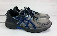 Men's ASICS Gel-Venture 6 Gray Blue Black Running Shoes T73GN 11 Extra Wide 4E