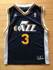 9b2d3b3a932 Adidas Youth Boys NBA Jersey Utah Jazz Trey Burke White sz M