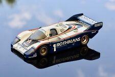 Porsche 956 - Finish Line 1000 km Silverstone 1982 - Record MRF - 1/43 - Rare !!