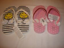 Girl Gap Rubber Flip Flops  NWT