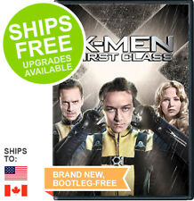 X-Men: First Class (DVD, 2011) NEW, Sealed, James McAvoy, Michael Fassbender