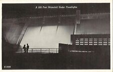 Postcard Tennessee Norris Dam Spillway Clinch River  c late 1940s