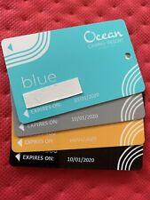 Ocean Resort Casino Rewards Club Players Card (set Of 4) Atlantic City, Nj