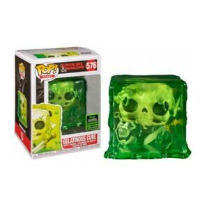 GELATINOUS CUBE Dungeons & Dragons ECCC 2020 Exclusive Funko POP! #576 NEW