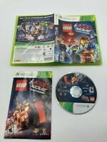 Microsoft Xbox 360 CIB Complete Tested The LEGO Movie The Video Game