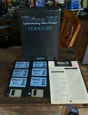 """Ultima VII 7 Black Gate IBM/PC 3.5"""" Floppy Disk In Box Computer RPG"""