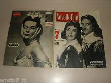 DAWN ADDAMS=GEORGES MARCHAL=LUDMILLA TCHERINA=COVER MAGAZINE 1955/386