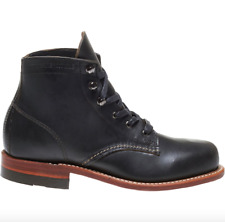 WOLVERINE - Women's Heritage 1000 Mile Leather Lace Up Boot Black - 9 NIB