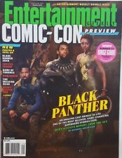 Entertainment Weekly 2017 Comic Con Black Panther Chadwick Boseman Free Shipping