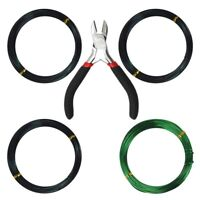Tree Training Wires for Bonsai Tree, with Bonsai Wire Cutter - Size 1.0 mm/ U4V7