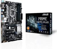 ASUS PRIME H270-Plus Motherboard Socket 1151/DDR4/S-ATA 600/ATX - Black