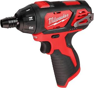 NEW Milwaukee M12 2401-20 BARE TOOL 1/4 inch Cordless Hex Screwdriver