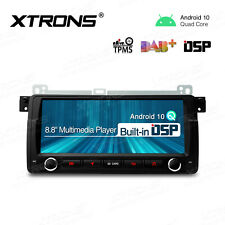 "8.8"" Android 10.0 Car Radio Stereo GPS DSP IPS Head Unit For BMW E46 Rover 75"