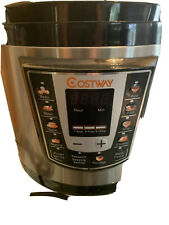 Costway Programmable Electric Pressure Cooker, 6 L Slowcook Steamer New