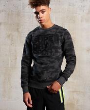 Superdry Mens Gym Tech Crew Neck Sweatshirt