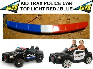 NOS POLICE CAR TOP LIGHT FOR KID TRAX 12 VOLT CARS