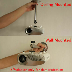 Aluminum Alloy Mini Ceiling Wall Mount Bracket For Mini Projector 3kg Load Stand