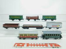 BK274-1# 8x H0/DC Personenwagen etc DB (Roco, Fleischmann, Bub), 2. Wahl/s.g.