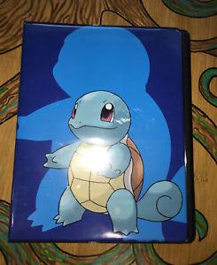 Pokemon Ultra Pro 9 Pocket Squirtle Binder
