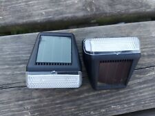 Smart Garden  Solar Power Fence Wall and Post Light - pack of 4