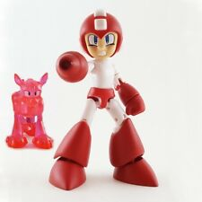 RED MEGA MAN WITH RUSH Bandai Shokugan Secret Mega Man 66 Action Mini Figure #1