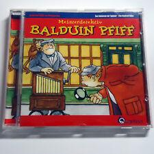 Meisterdetektiv Balduin Pfiff - Geheimnis der Spieluhr / Handvoll Diebe - CD
