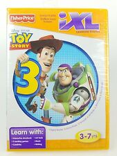 FISHER PRICE IXL LEARNING GAME Disney PIXAR Toy Story 3 New & Sealed! 3-7 years
