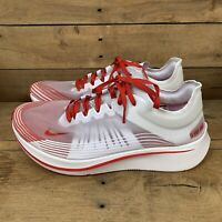 "Nike Zoom Fly SP - ""Tokyo"" White/University Red (AJ9282-100) Men's Size 11 Shoes"