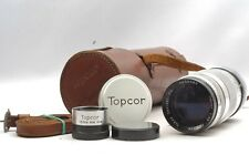 @ Ship in 24 Hrs @ Rare! @ Topcon Topcor 135mm f3.5 Leica M39 LTM Telephoto Lens