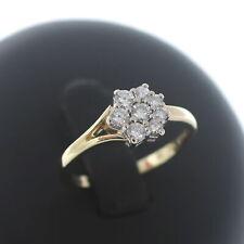 Brillant Ring 585 Gold lupenrein 0,50 Ct IF 14 Kt Diamant Bicolor Wert 1100,-