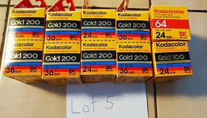 Kodak Gold and Kodachrome 35mm Film, Expired